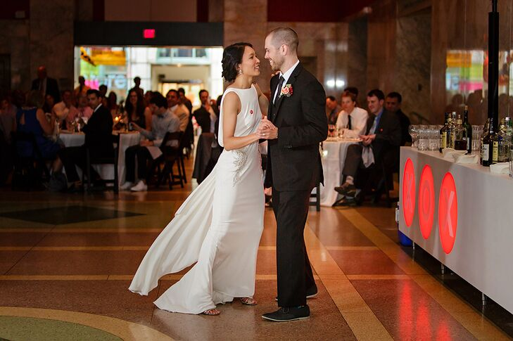 Married Couple First Dance at Reception