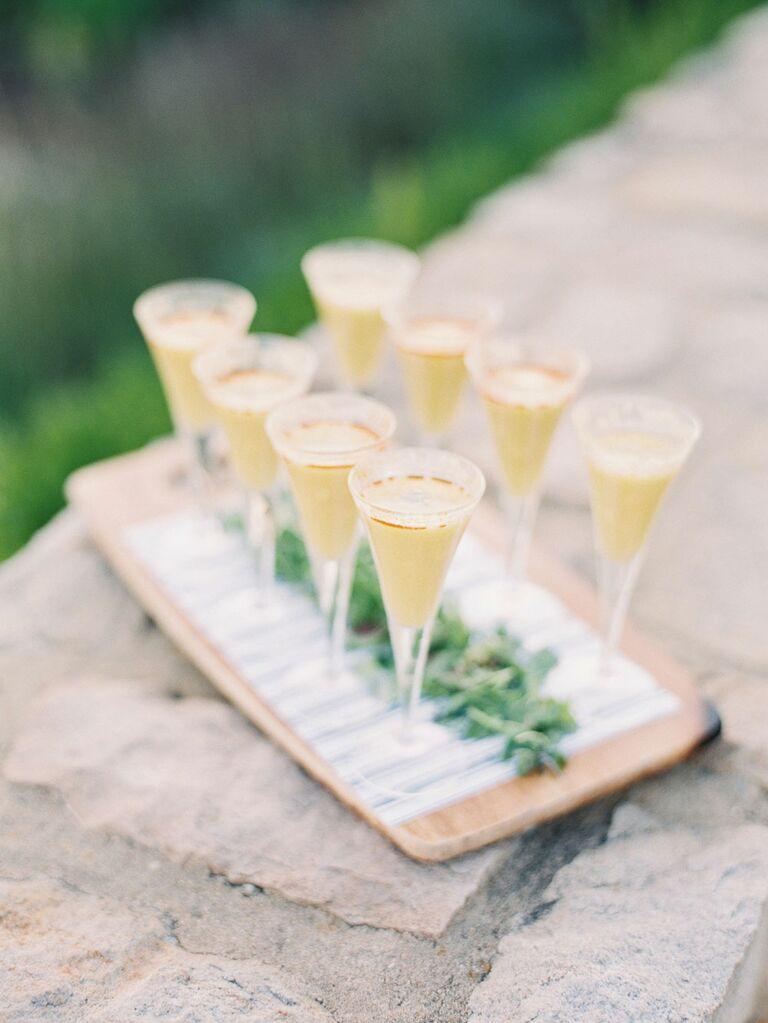 Custom bridal shower cocktails