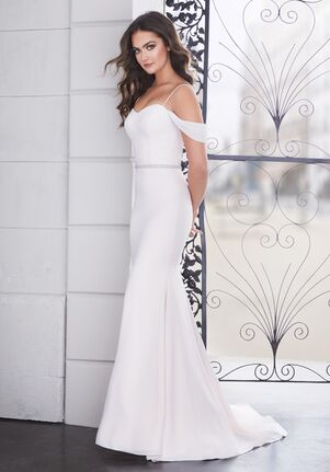 Paloma Blanca 4854 Mermaid Wedding Dress