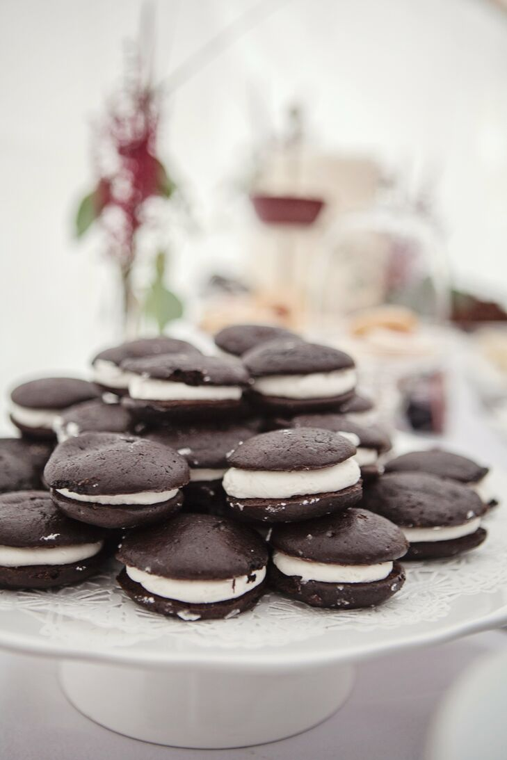 To top off the dessert selections, guests were able to enjoy homemade mini whoopie pies.