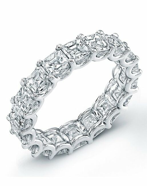 Uneek Fine Jewelry ETAS400 Platinum Wedding Ring