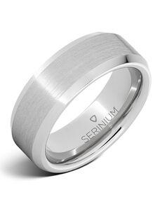 Serinium® Collection Existentialist — Satin Finish Serinium® Ring-RMSA002129 Serinium® Wedding Ring