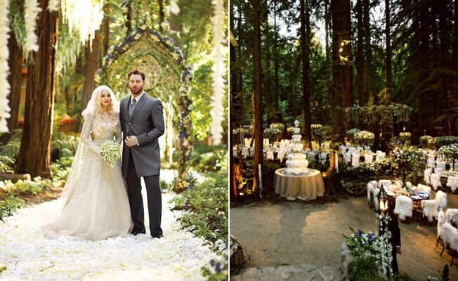 sean parker wedding photos