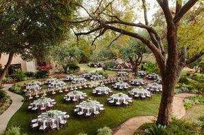 Alfresco Dinner Reception