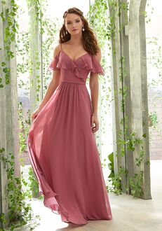 Morilee by Madeline Gardner Bridesmaids 21601 V-Neck Bridesmaid Dress