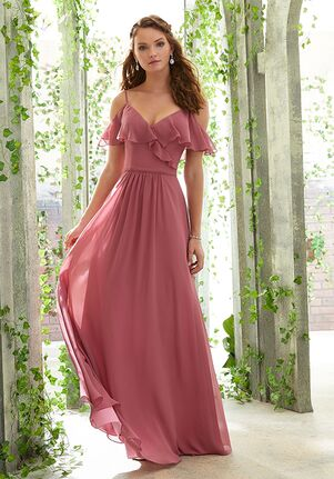 Morilee by Madeline Gardner Bridesmaids 21601 V-Neck Bridesmaid Dress