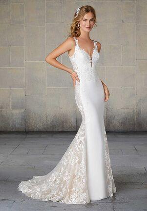 Morilee by Madeline Gardner Saskia 2124 Sheath Wedding Dress