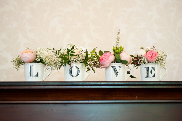 Love Cups Decor