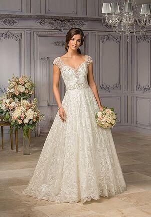 ed8fceb5f0 Jasmine Couture T182007 A-Line Wedding Dress