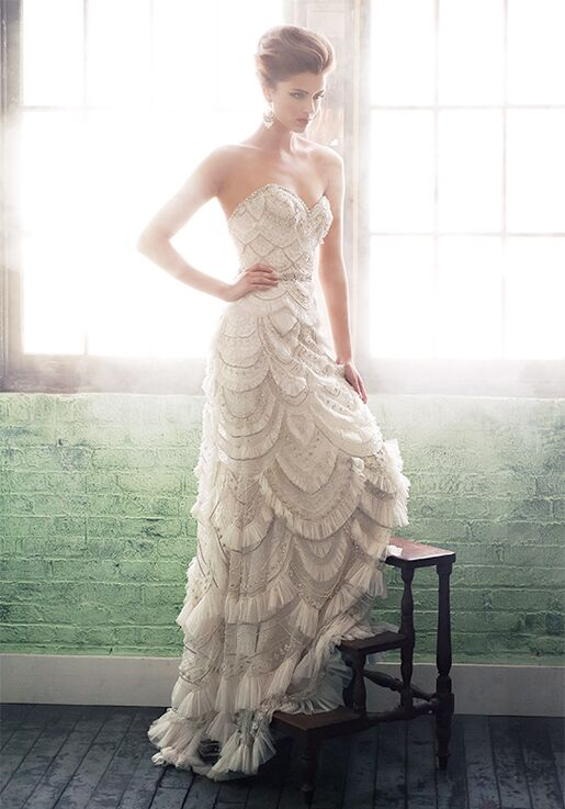 Enaura Bridal Couture ES421 Mermaid Wedding Dress