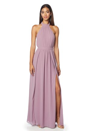 #LEVKOFF 7139 Halter Bridesmaid Dress