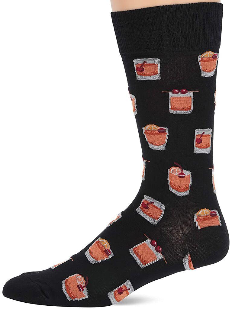 Old Fashioned groomsmen socks