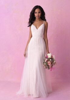 Allure Romance 3168 Sheath Wedding Dress