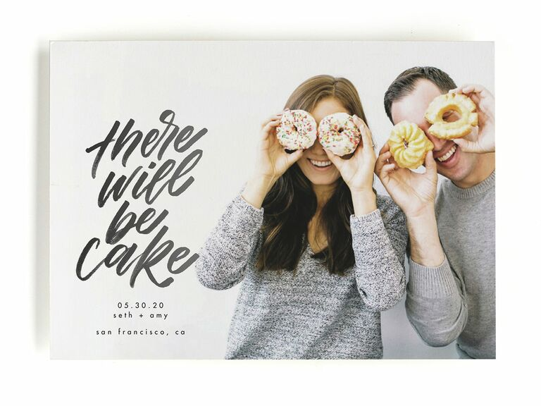 There Will Be Cake save-the-dates