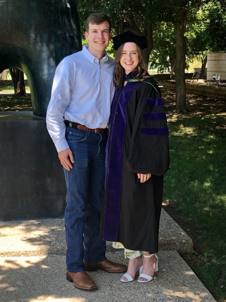 COVID-19 did not completely ruin my graduation ceremony! Although it wasn't what I pictured - Baylor Law, my family, and Stewart made it the special day I always dreamed of.