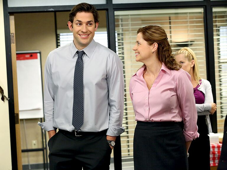 Jim and Pam The Office famous couples