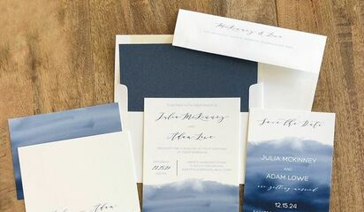 Nota Bene Invitations Paper Goods Pittsburgh Pa