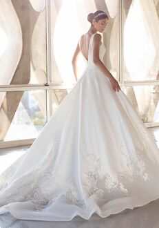 PRONOVIAS GREEN Ball Gown Wedding Dress