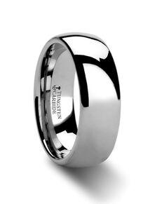 Mens Tungsten Wedding Bands W6126-DPB Tungsten Wedding Ring