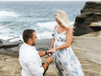 Hawaii marriage proposal