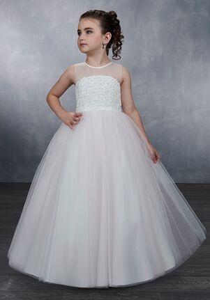 Mary's Angel by Mary's Bridal MB9044 Pink Flower Girl Dress