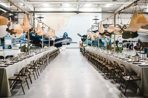 Eclectic Palm Springs Air Museum Reception