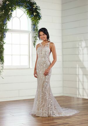 Essense of Australia D3060 Sheath Wedding Dress