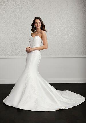 Adrianna Papell Platinum 31121 Mermaid Wedding Dress