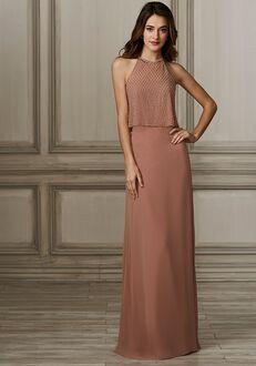 Adrianna Papell Platinum 40141 Halter Bridesmaid Dress