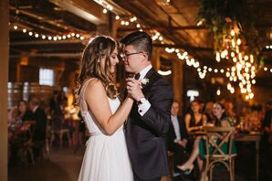Romantic Loft First Dance with Bride and Groom