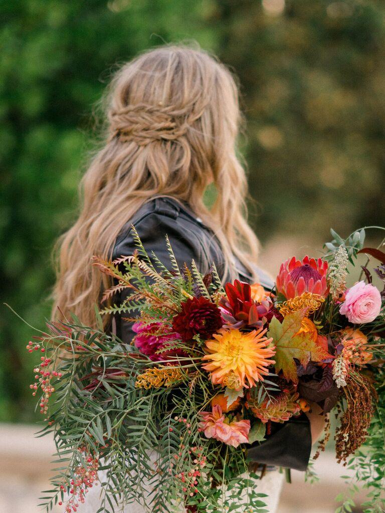wedding braid hairstyles braided barrette
