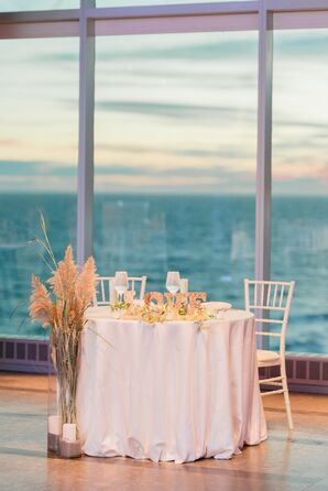 Sweetheart Table at One Atlantic in Atlantic City, New Jersey