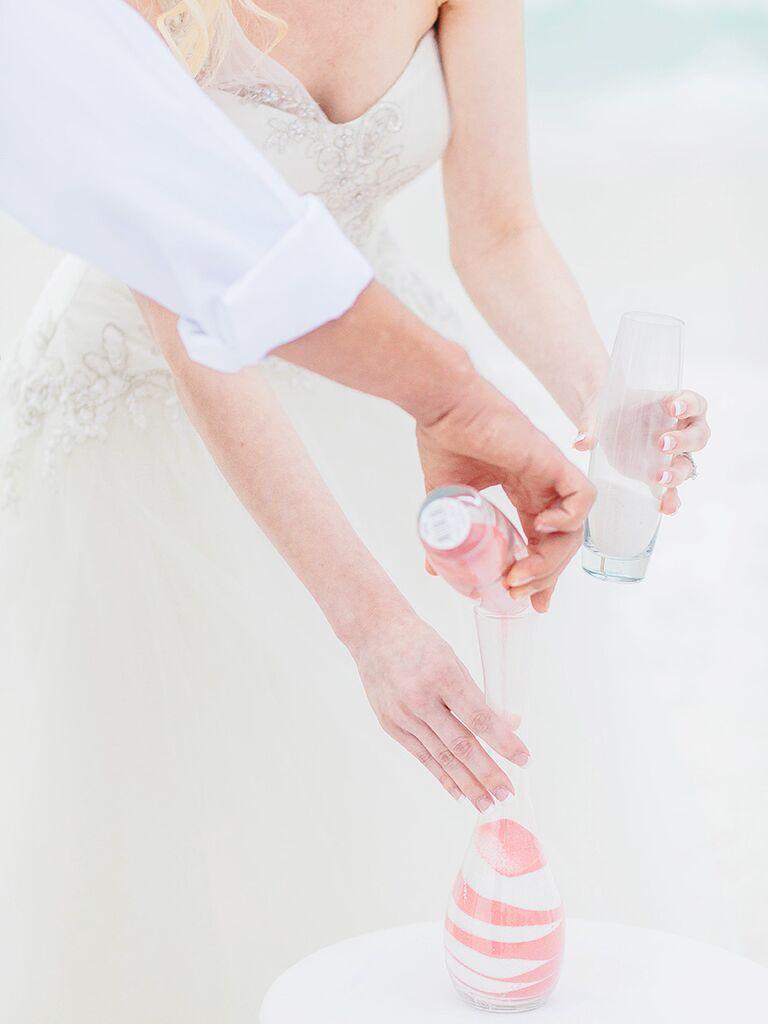 Unity sand wedding ceremony ideas