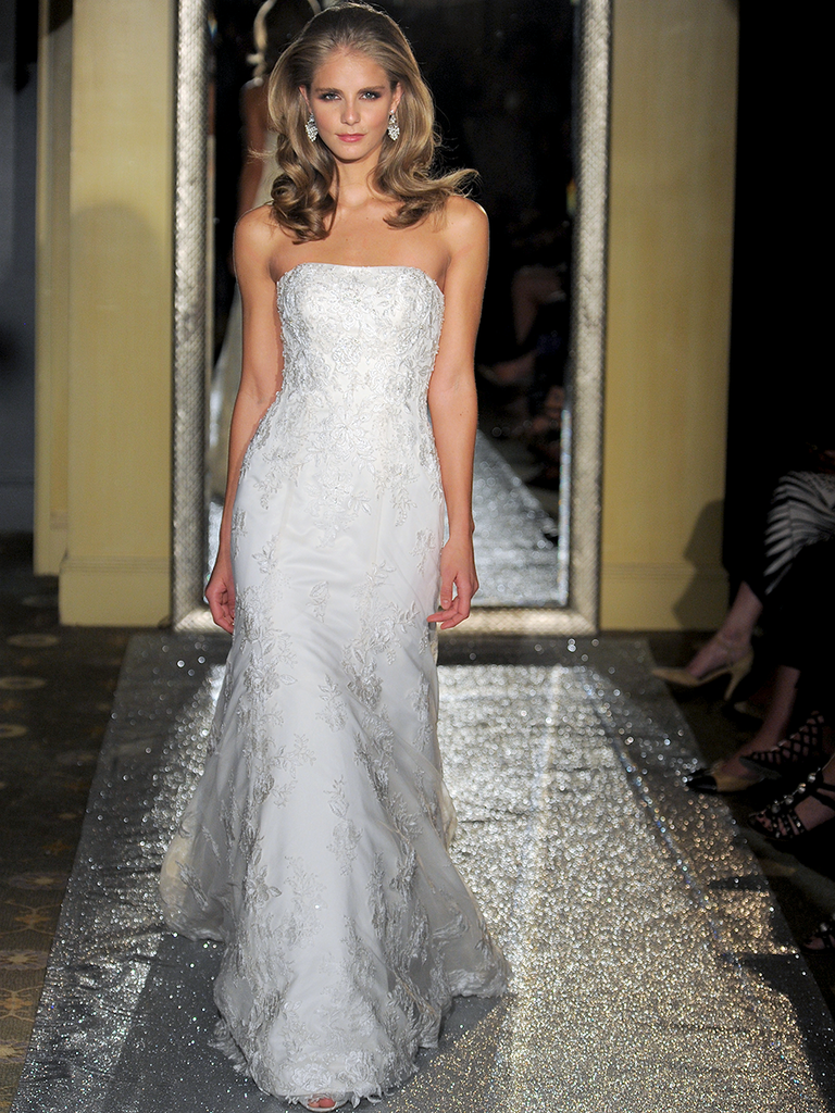c7dc2906df22 Oleg Cassini at David's Bridal Spring 2017: Bridal Fashion Week Photos