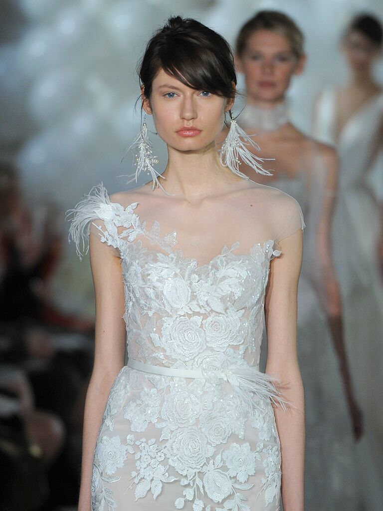 Mira Zwillinger Spring 2018 Collection Bridal Fashion Week Photos