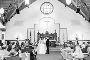 Traditional Catholic Ceremony at Our Lady of Lourdes Parish in Wellfleet, Massachusetts