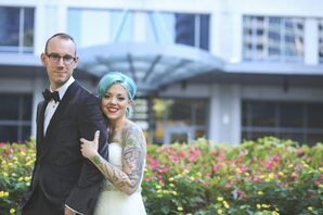 Jana and Caleb's Le Bam Studio Wedding
