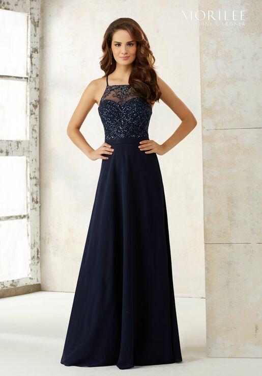 Morilee by Madeline Gardner Bridesmaids 21506 Halter Bridesmaid Dress