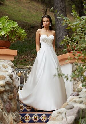 Moonlight Tango T931 A-Line Wedding Dress