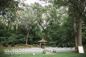 Wildwood Metropark Fall Wedding Ceremony