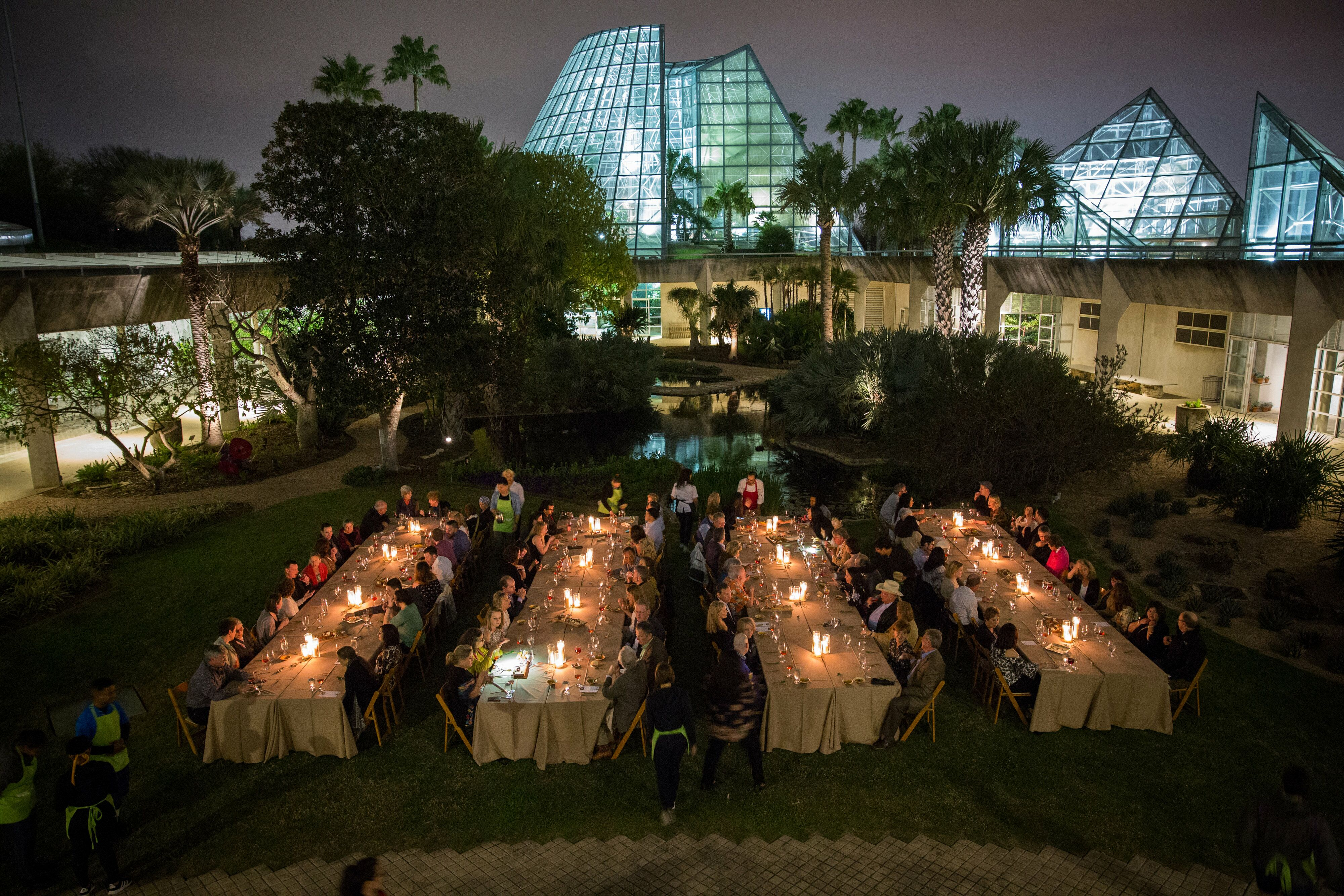 San Antonio Botanical Garden Reception Venues San