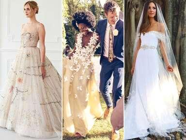 fashion blogger wedding dresses