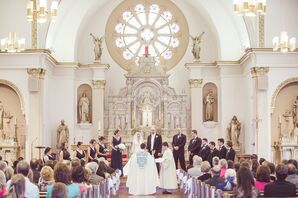 St. John the Evangelist Church Wedding Ceremony