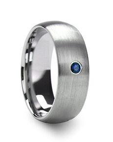 Mens Tungsten Wedding Bands T5425-BDBD Tungsten Wedding Ring