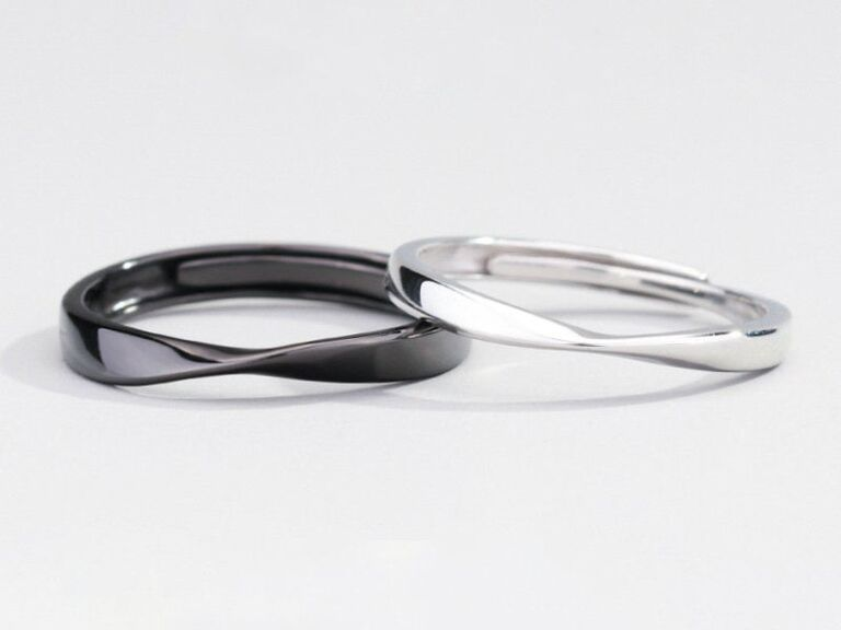 couple rings,Wedding ring set his and her,sterling silver rings for womem,Couples ring set,couples gift boyfriend Promise rings for couples