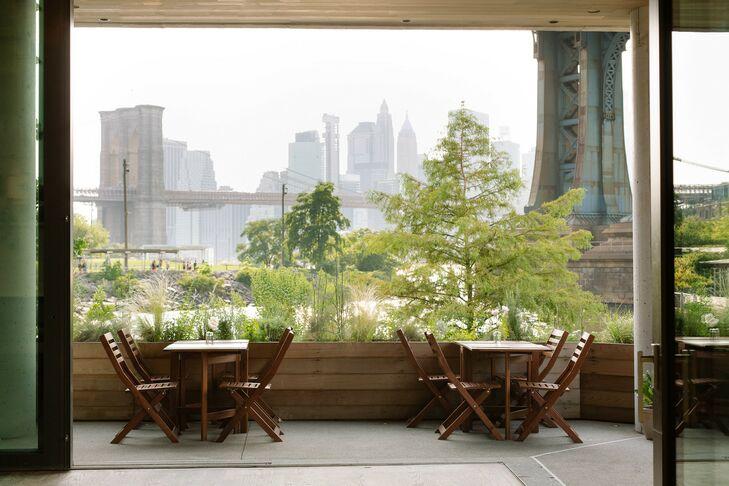 Modern Reception at Celestine Restaurant in Brooklyn, NY