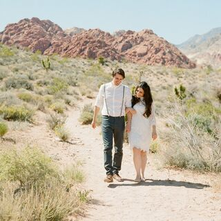 A Calico Basin Wedding in Las Vegas