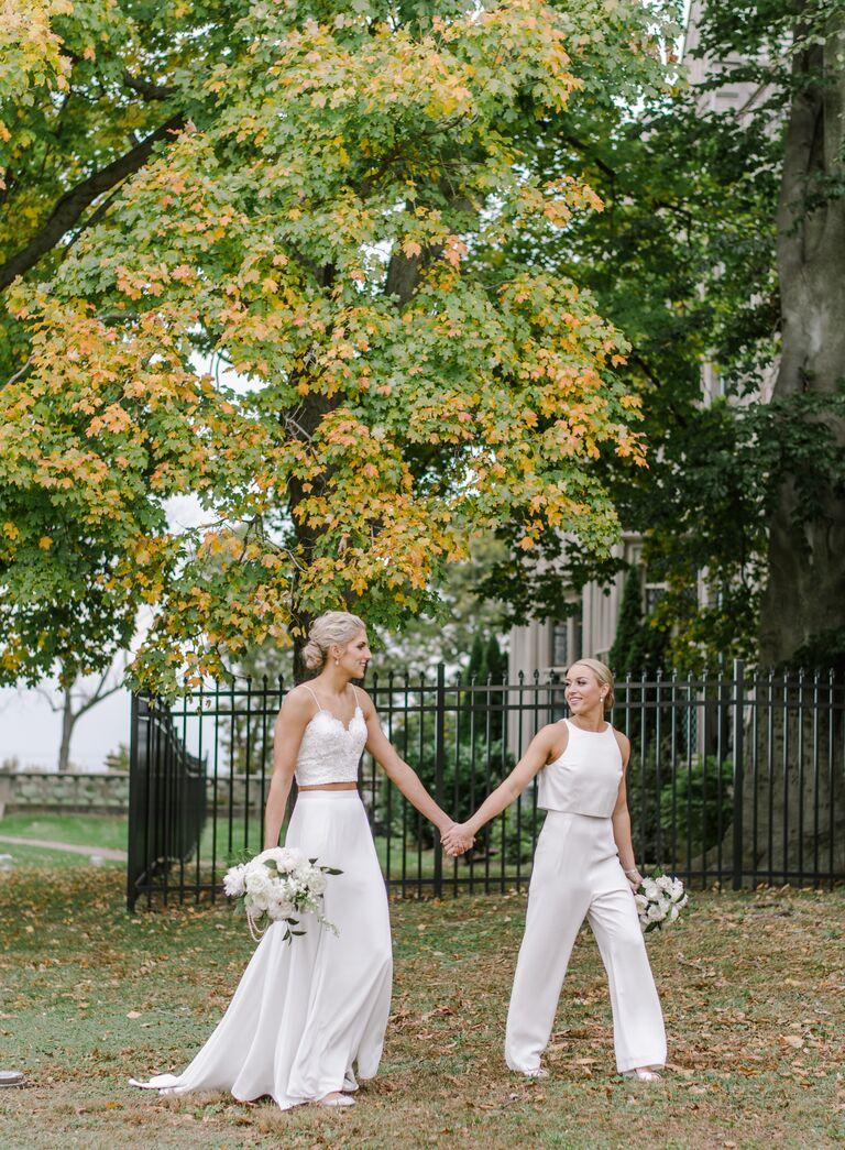 The Knot Dream Wedding 2017 BHLDN wedding dresses