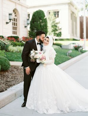 Wedding Portraits at the Kansas City Convention Center in Missouri