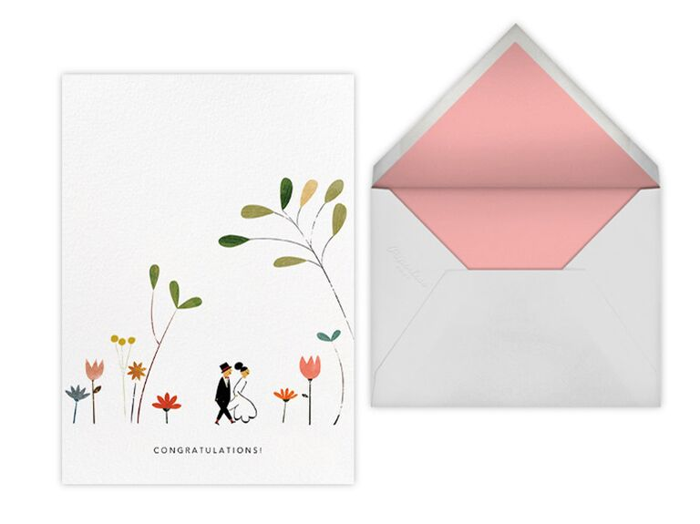 Paperless Post wedding card designed by Red Cap Cards